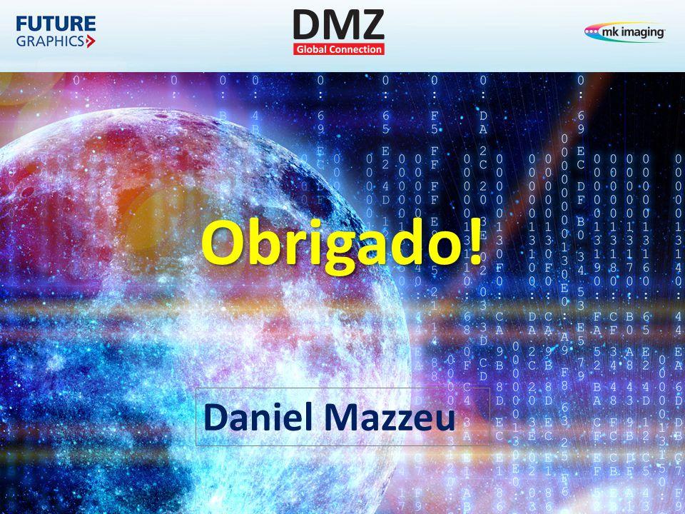 Obrigado! Daniel Mazzeu