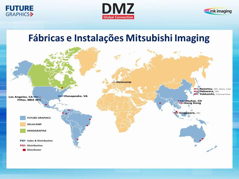 Fábricas e Instalações Mitsubishi Imaging