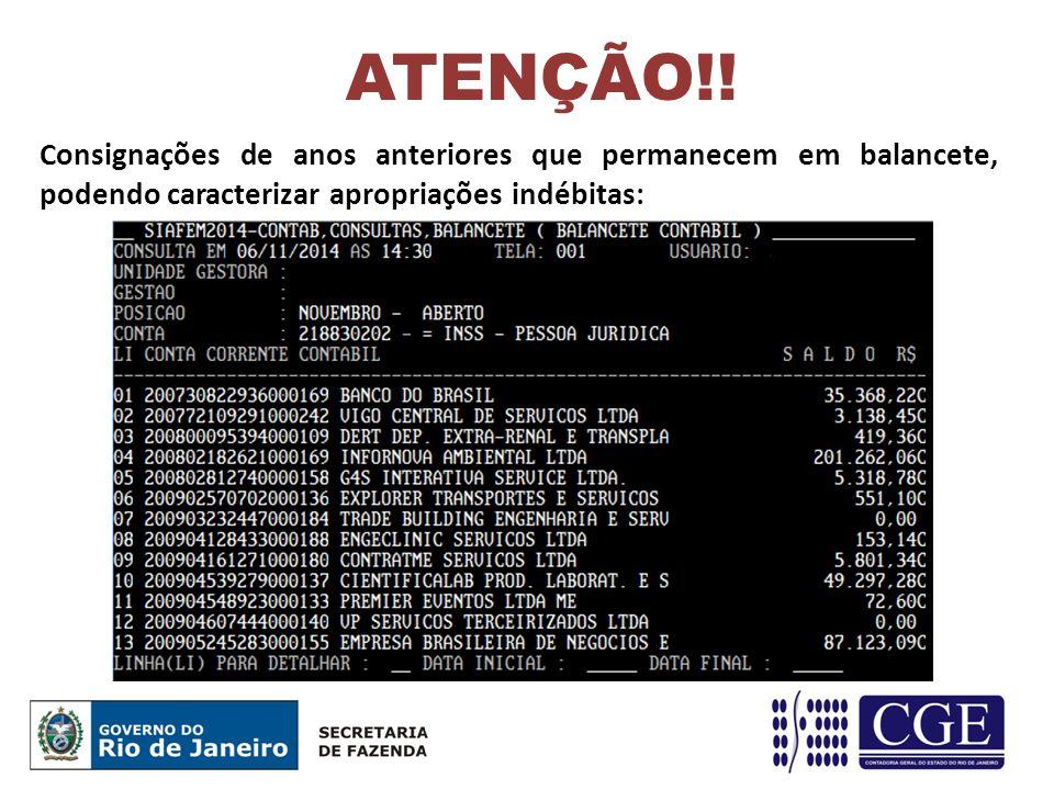 ATENÇÃO!.