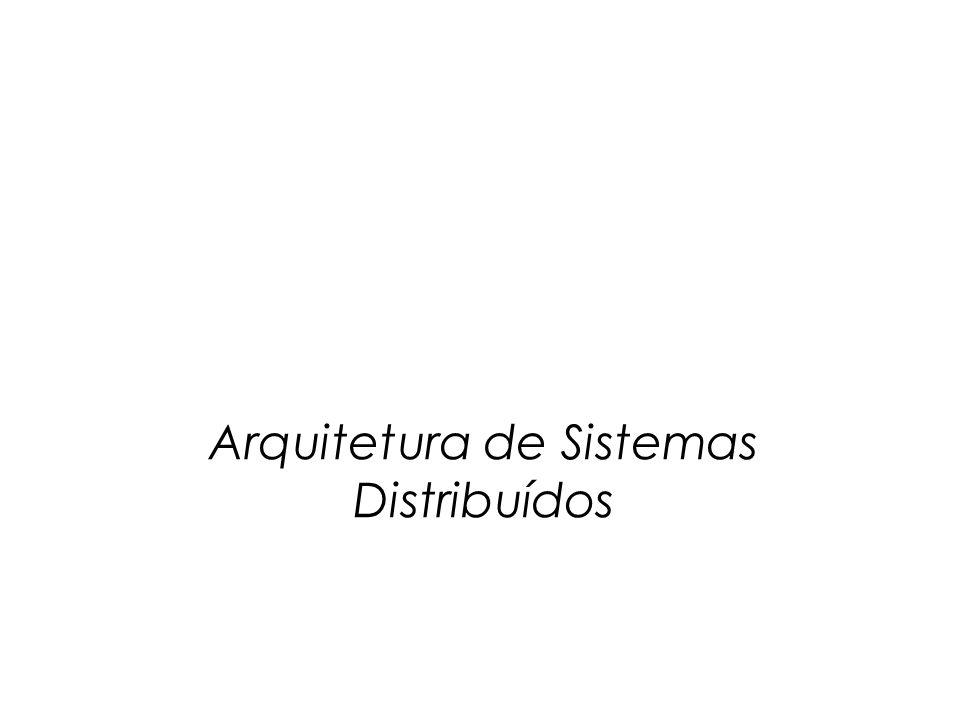 Conteúdo  Introdução  Estilos Arquitetônicos  Arquiteturas de Sistemas Distribuídos  Arquiteturas Centralizadas  Arquiteturas Descentralizadas