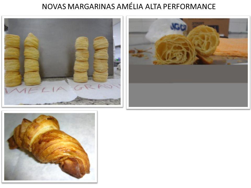 NOVAS MARGARINAS AMÉLIA ALTA PERFORMANCE