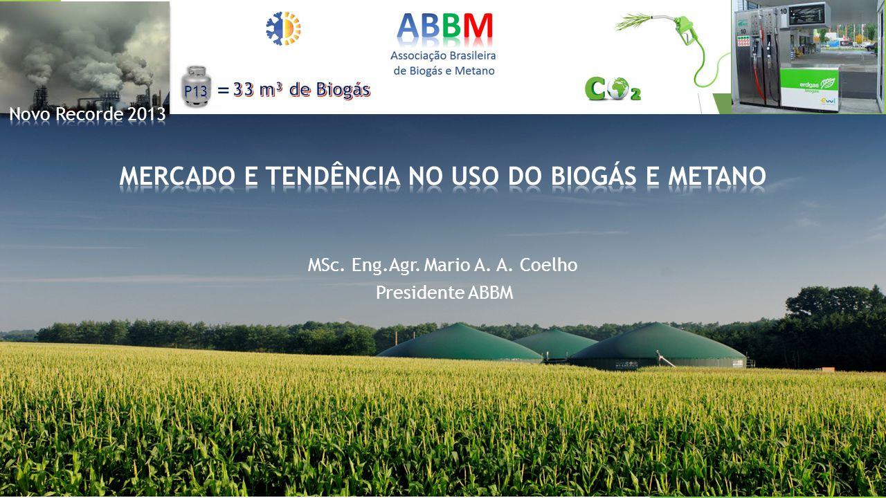MSc. Eng.Agr. Mario A. A. Coelho Presidente ABBM =