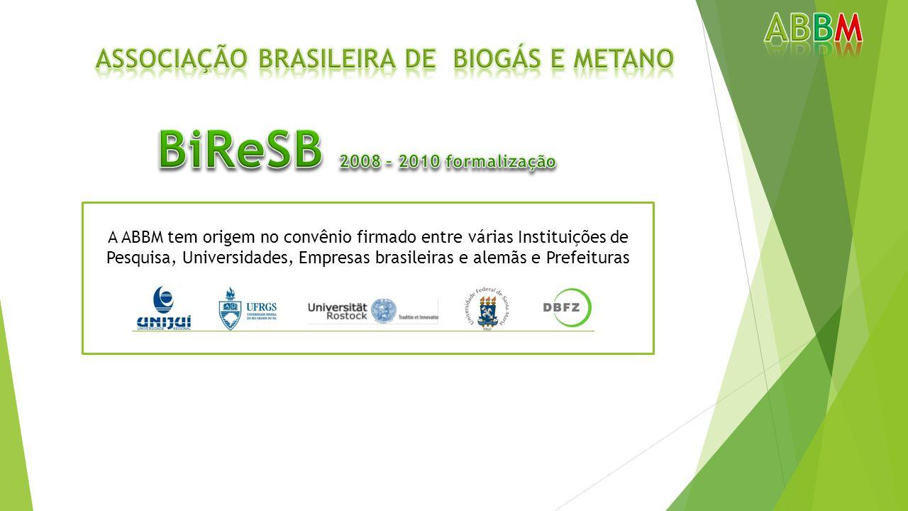 A ABBM tem origem no convênio firmado entre várias Instituições de Pesquisa, Universidades, Empresas brasileiras e alemãs e Prefeituras