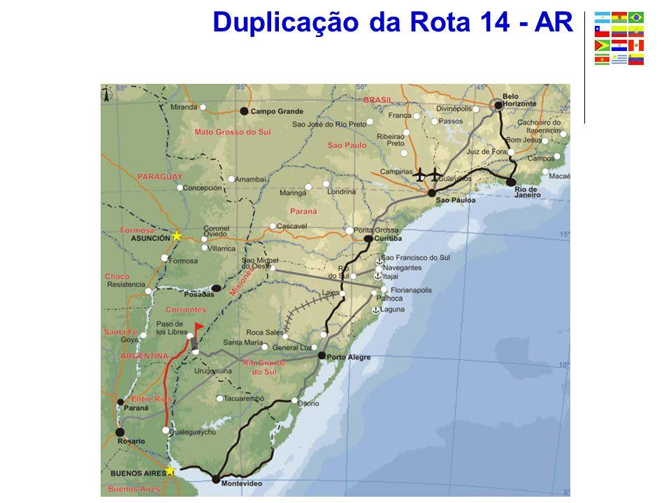Duplicação da Rota 14 - AR
