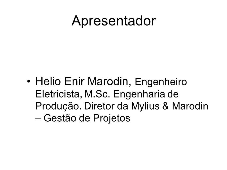 Gestão de Projetos Instrumento de Gerenciamento da Inovação tecnológica Helio E.