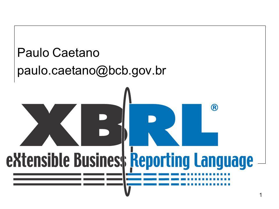 32 Tendências XBRL –Existe uma clara tendência mundial de padronizar a informação financeira/contábil e de negócio.