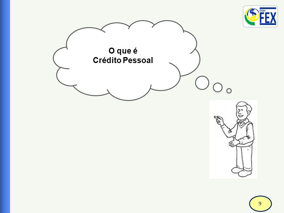 9 O que é Crédito Pessoal