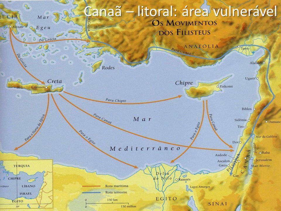 Canaã – litoral: área vulnerável