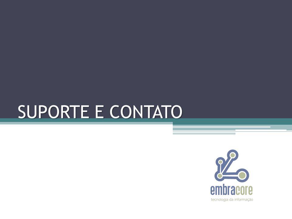 SUPORTE E CONTATO