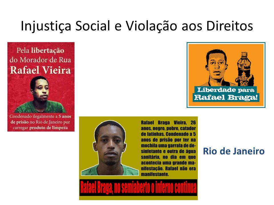 Injustiça Social e Violação aos Direitos Rio de Janeiro