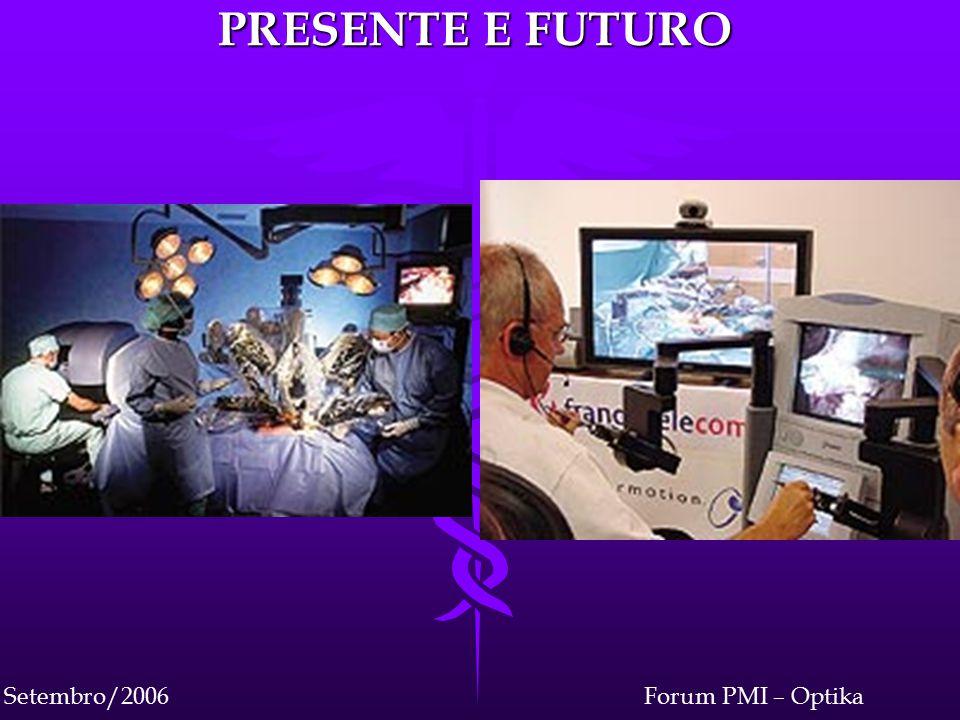 Forum PMI – OptikaSetembro/2006 PRESENTE E FUTURO