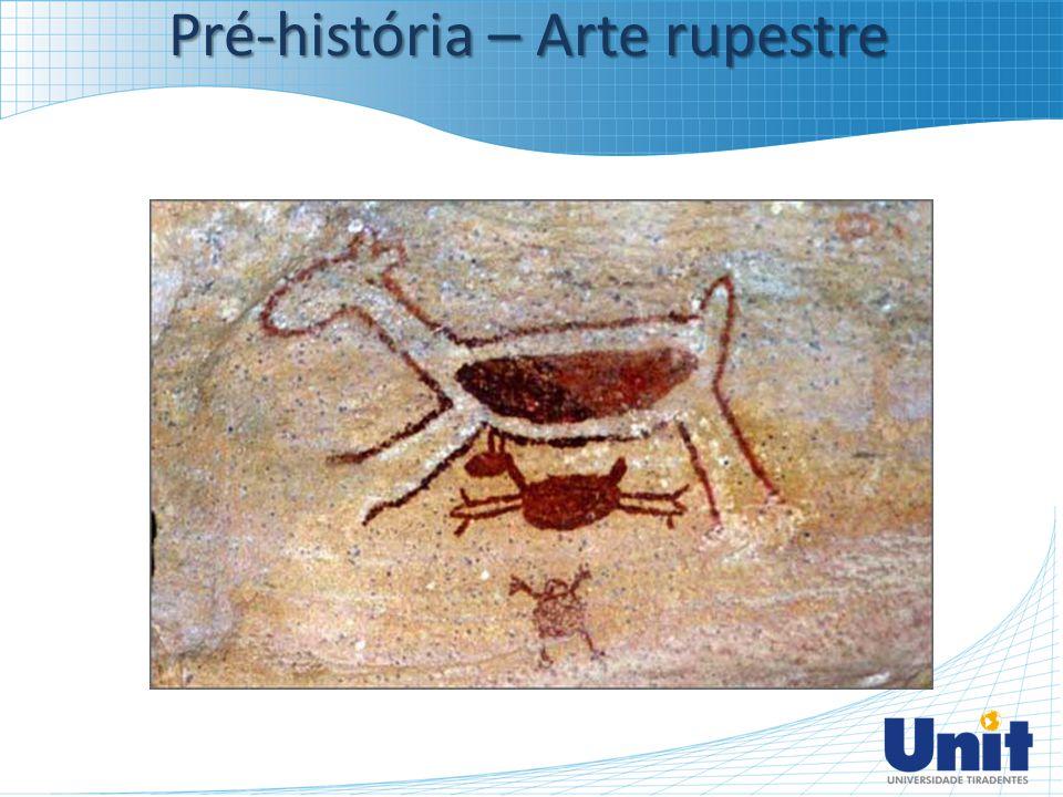 Pré-história – Arte rupestre