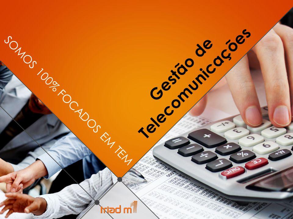 SOMOS 100% FOCADOS EM TEM Gestão de Telecomunicações