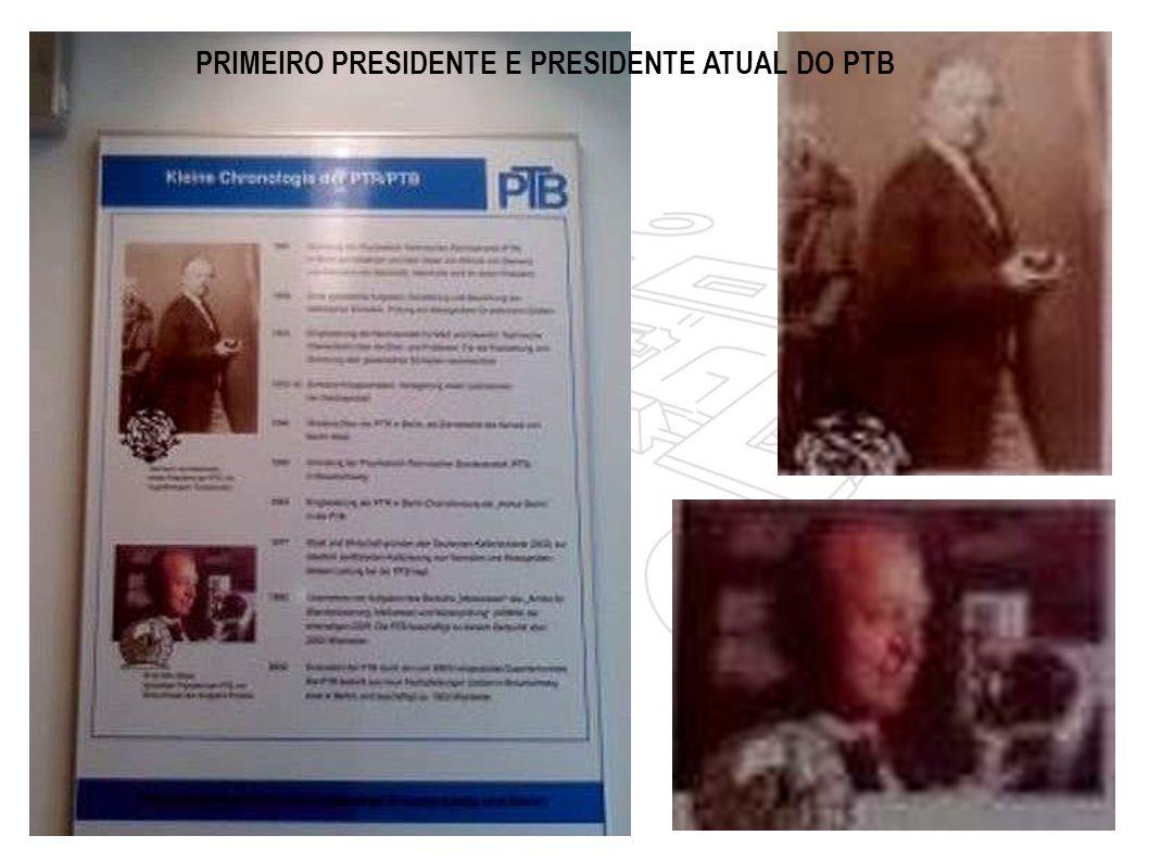 PRIMEIRO PRESIDENTE E PRESIDENTE ATUAL DO PTB