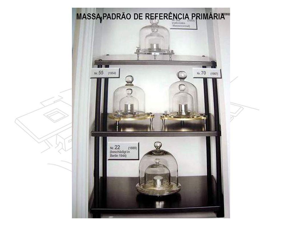 MASSA PADRÃO DE REFERÊNCIA PRIMÁRIA