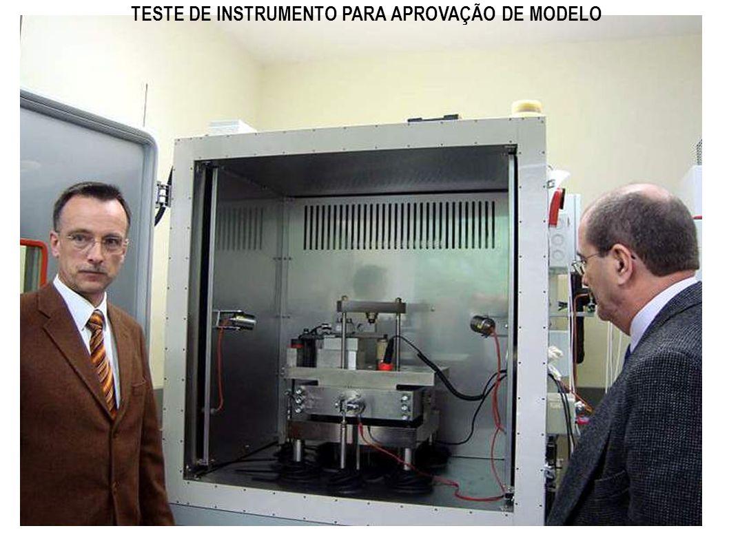 TESTE DE INSTRUMENTO PARA APROVAÇÃO DE MODELO