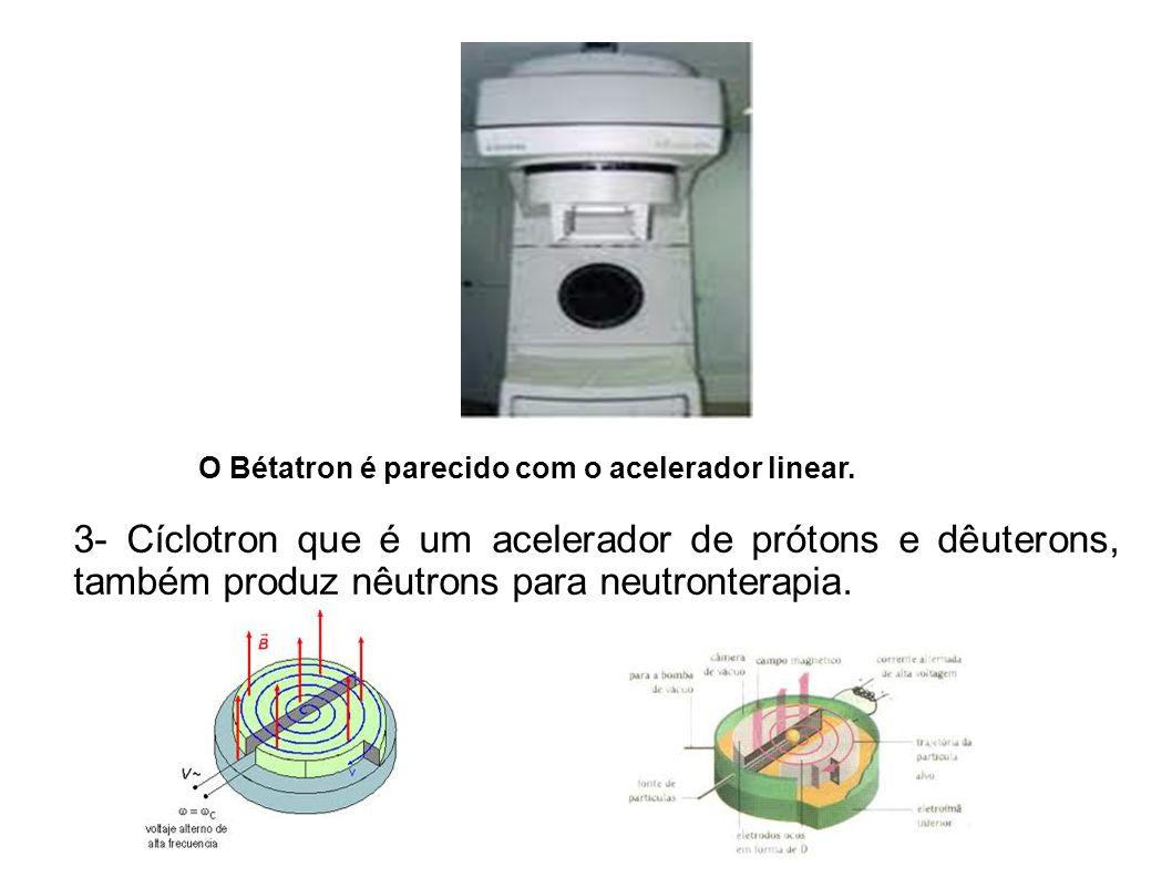 Um cíclotron simples.O Laboratório Nacional de Luz Sincroton.