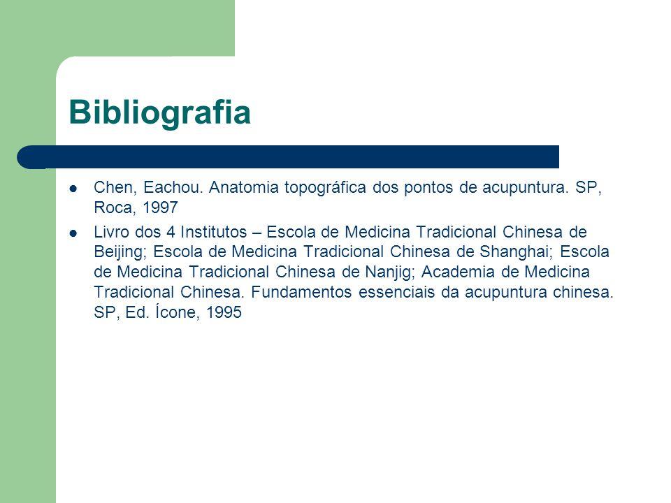 Bibliografia Chen, Eachou.Anatomia topográfica dos pontos de acupuntura.