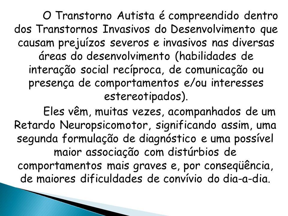 Sabe-se que, a pessoa com Transtorno Autista, assim como qualquer ser humano, possui um corpo com uma composição bioquímica diferente.