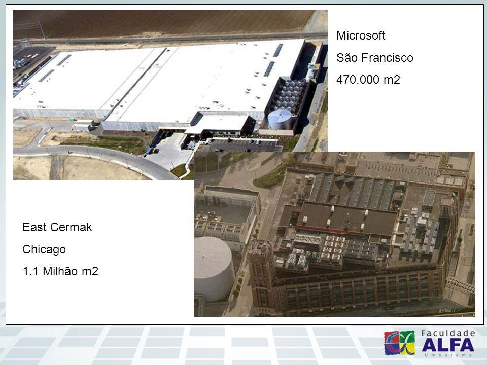 East Cermak Chicago 1.1 Milhão m2 Microsoft São Francisco 470.000 m2