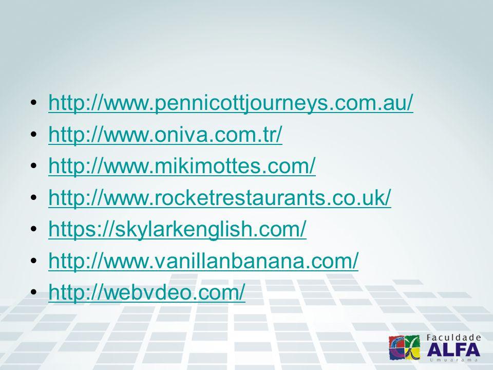 http://www.pennicottjourneys.com.au/ http://www.oniva.com.tr/ http://www.mikimottes.com/ http://www.rocketrestaurants.co.uk/ https://skylarkenglish.com/ http://www.vanillanbanana.com/ http://webvdeo.com/
