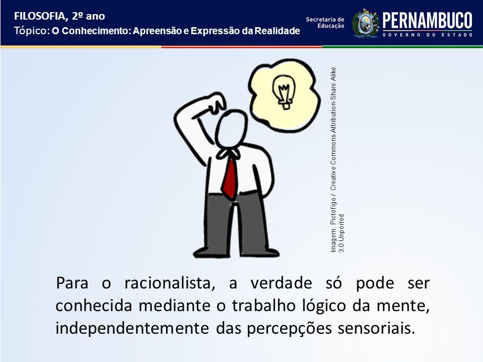 CARACTERÍSTICAS DO EMPIRISMO A verdade está na percepção dos sentidos; Não existem ideias inatas, isto é, toda ideia foi adquirida pela percepção sensorial.