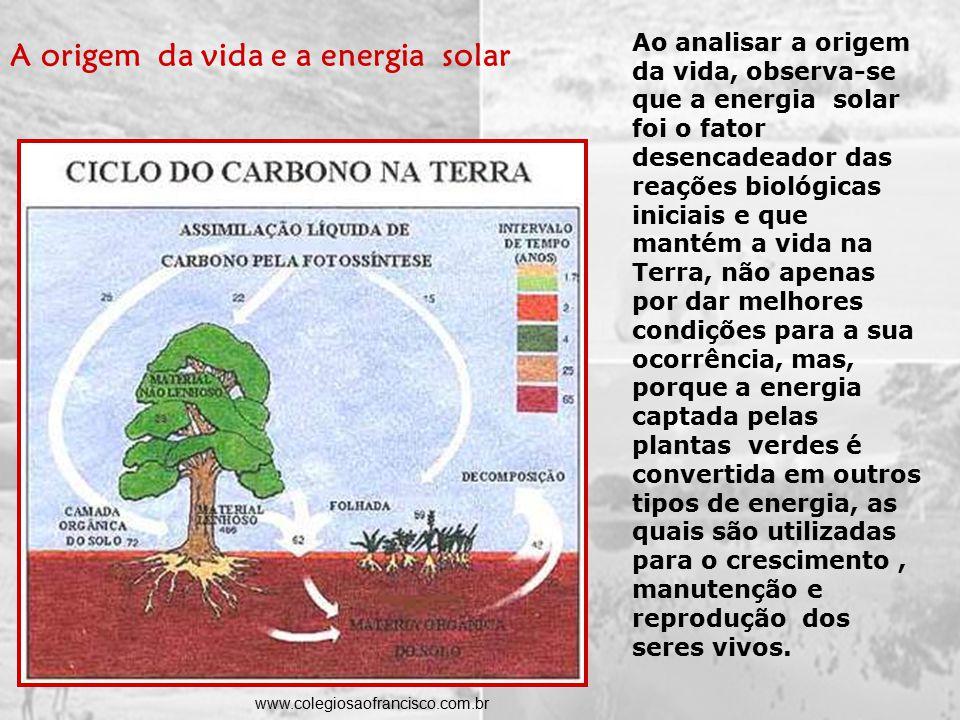 O Sol emite calor através de radiações que chegam à Terra.