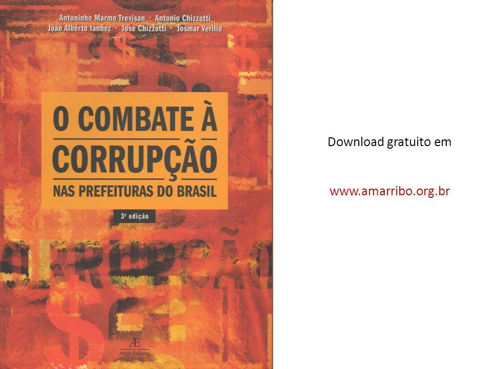 Download gratuito em www.amarribo.org.br