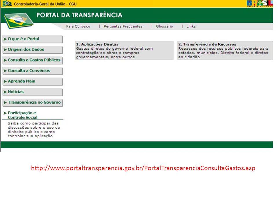 http://www.portaltransparencia.gov.br/PortalTransparenciaConsultaGastos.asp