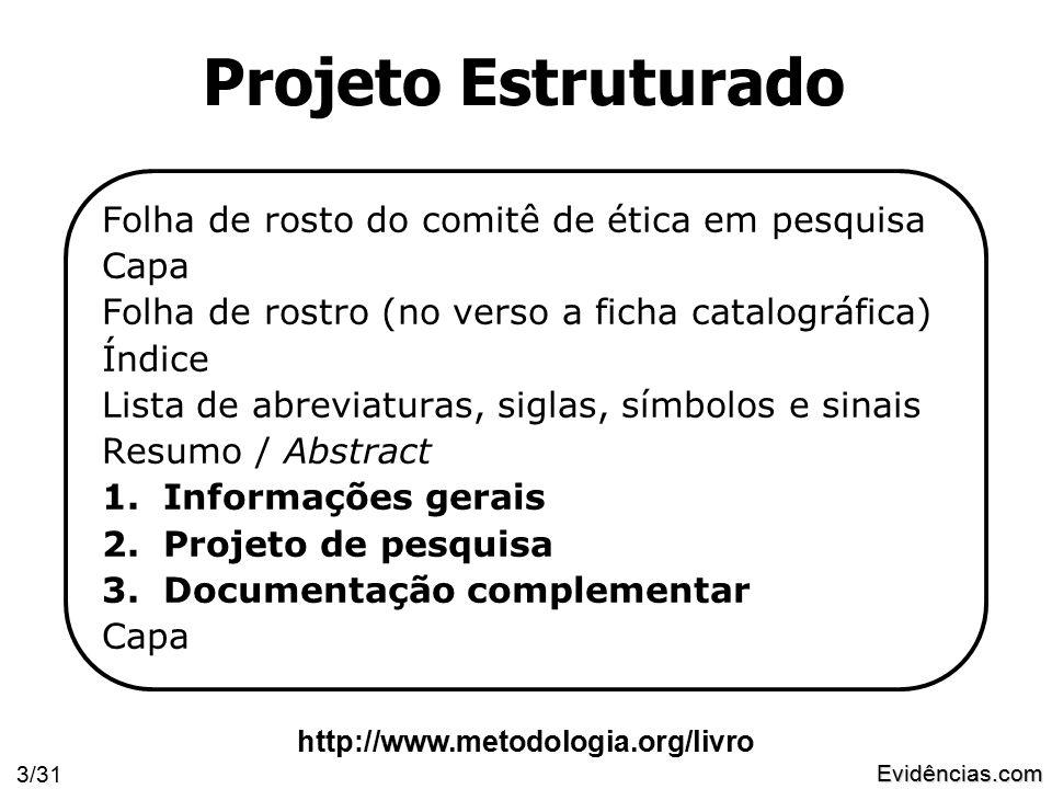 Evidências.com 4/31 3.Documentação Complementar 2.