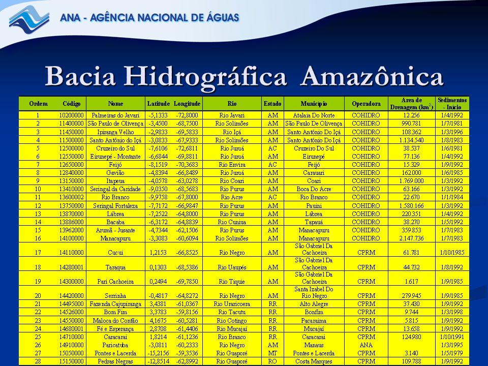 19 Bacia Hidrográfica Amazônica