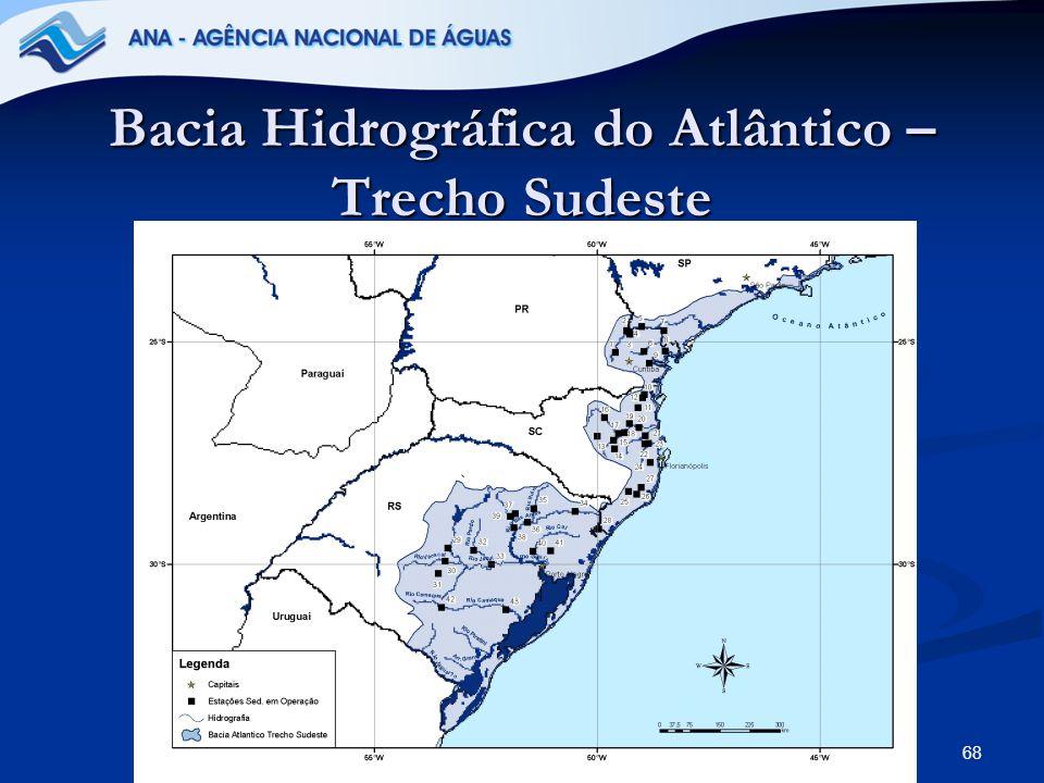 68 Bacia Hidrográfica do Atlântico – Trecho Sudeste
