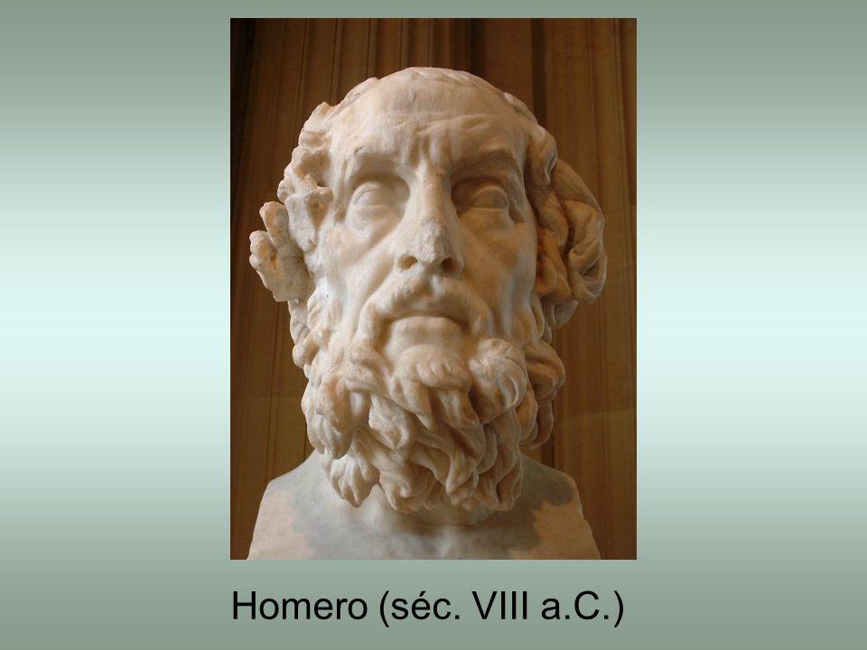 Homero (séc. VIII a.C.)