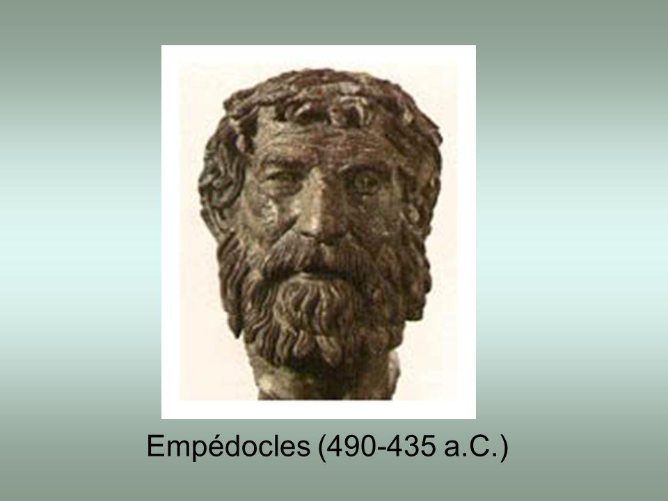Empédocles (490-435 a.C.)