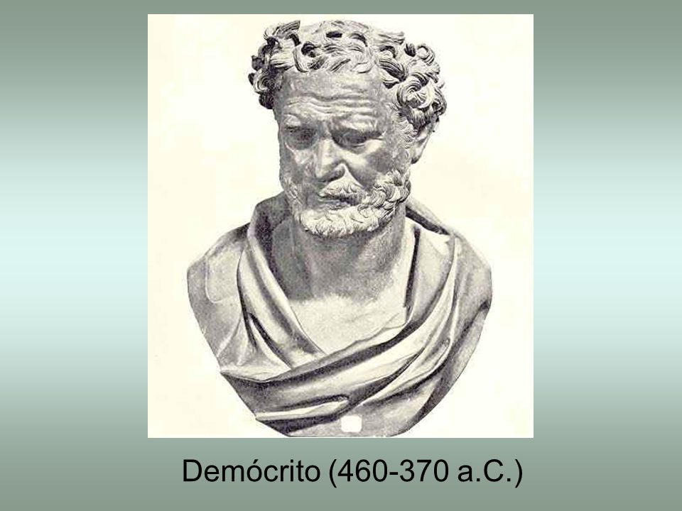 Demócrito (460-370 a.C.)
