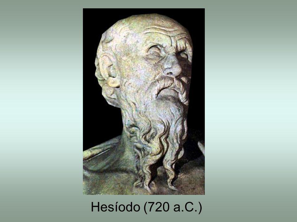 Hesíodo (720 a.C.)
