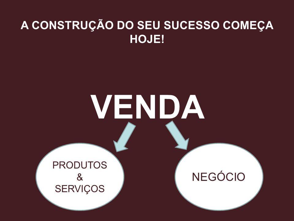 A CONSTRUÇÃO DO SEU SUCESSO COMEÇA HOJE! VENDA PRODUTOS & SERVIÇOS NEGÓCIO
