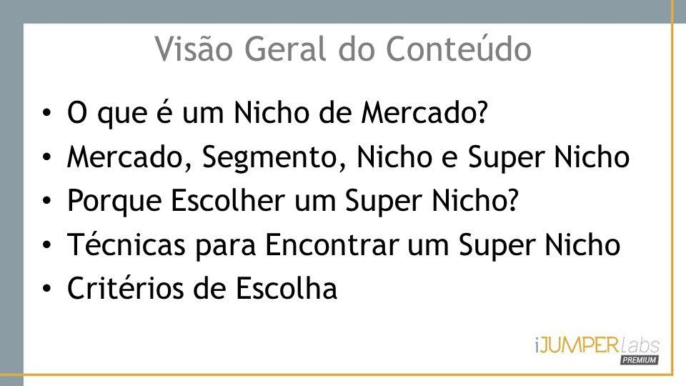 Porque Escolher um Super Nicho.O dinheiro está nos Super Nichos.
