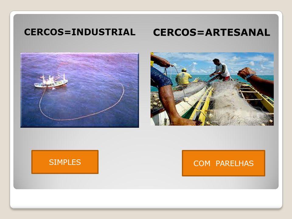 CERCOS=INDUSTRIAL CERCOS=ARTESANAL SIMPLES COM PARELHAS