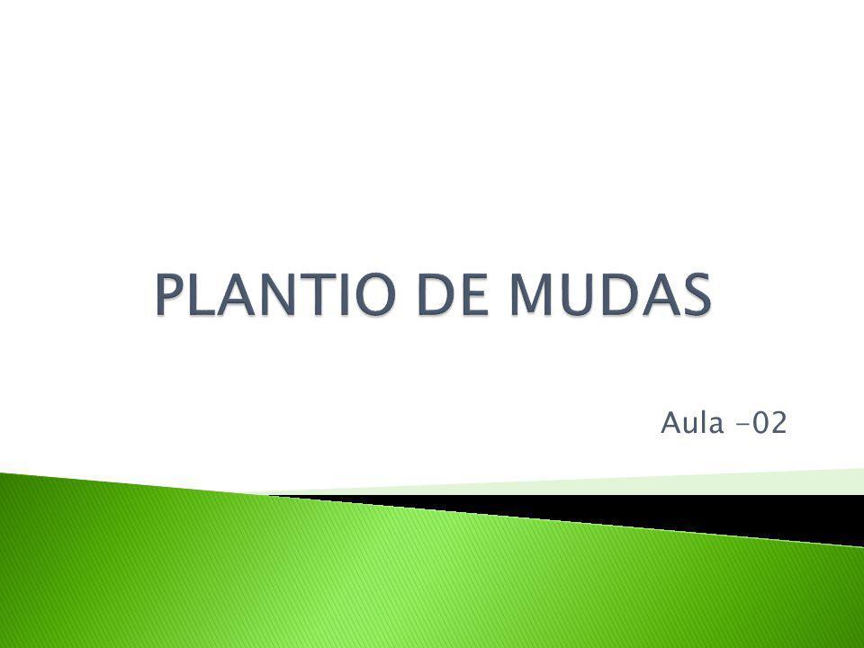 MUDA - estrutura vegetal de qualquer espécie ou cultivar, proveniente de reprodução sexuada ou assexuada convenientemente produzida e que tenha finalidade específica de plantio.