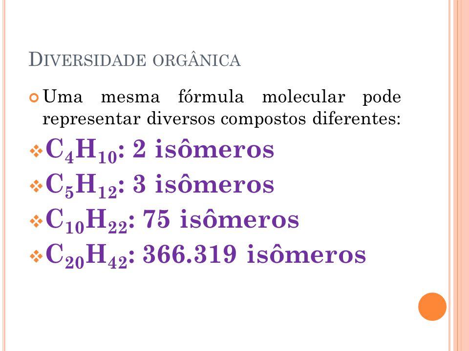 N ÃO É UM FENÔMENO EXCLUSIVO DA QUÍMICA ORGÂNICA Isomeria em química inorgânica: CIANETO DE HIDROGÊNIO ISOCIANETO DE HIDROGÊNIO