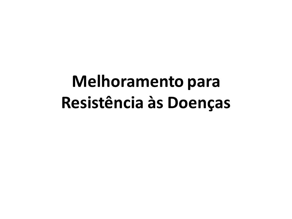 Resistência: é a capacidade da planta em impedir ou retardar a entrada e/ou subseqüentes atividades do patógeno em seus tecidos