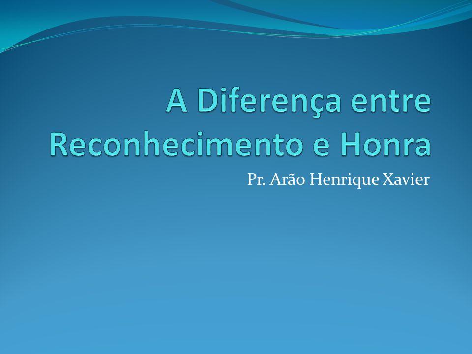 Pr. Arão Henrique Xavier