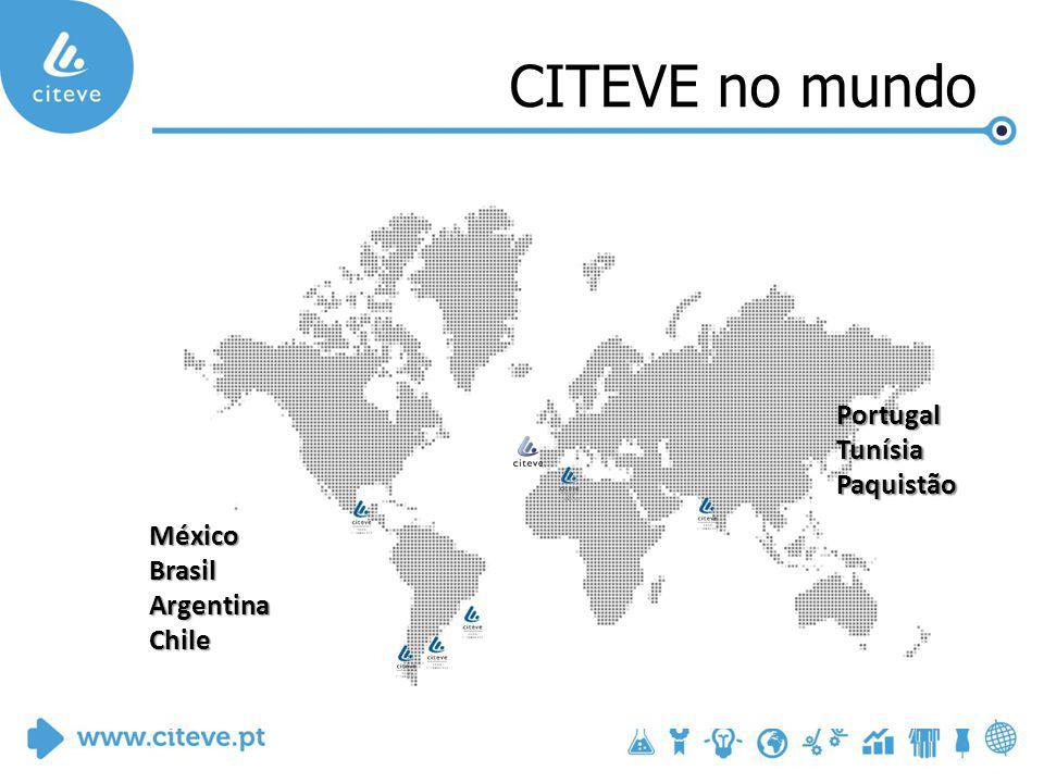 CITEVE no mundo MéxicoBrasilArgentinaChile PortugalTunísiaPaquistão