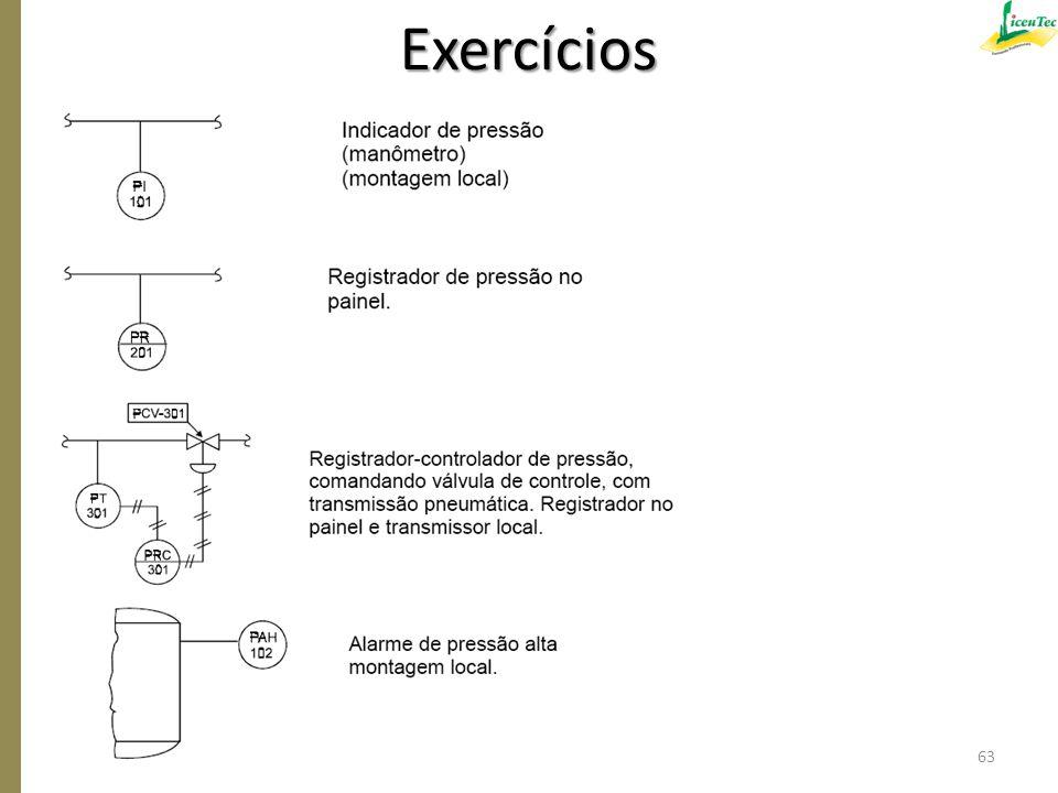 Exercícios 63