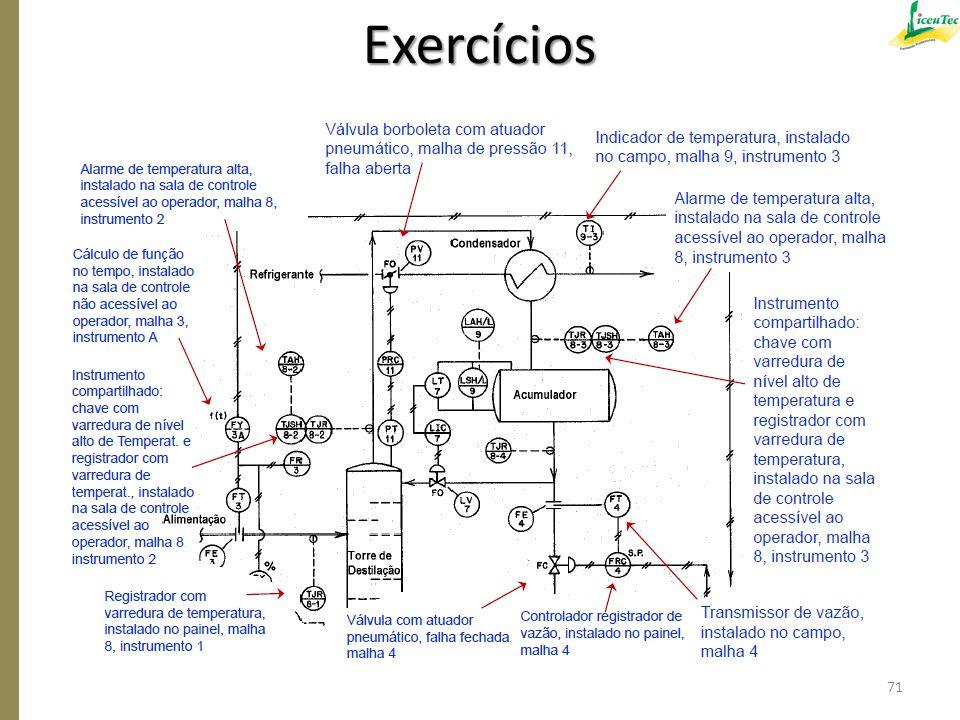 Exercícios 71