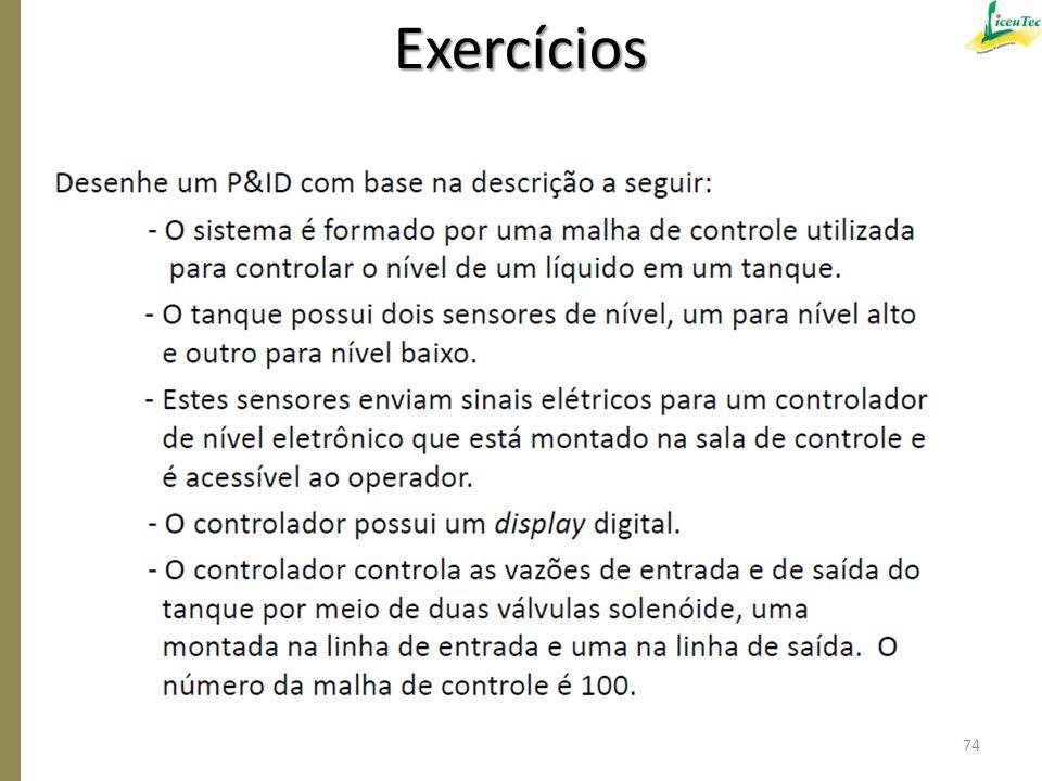 Exercícios 74