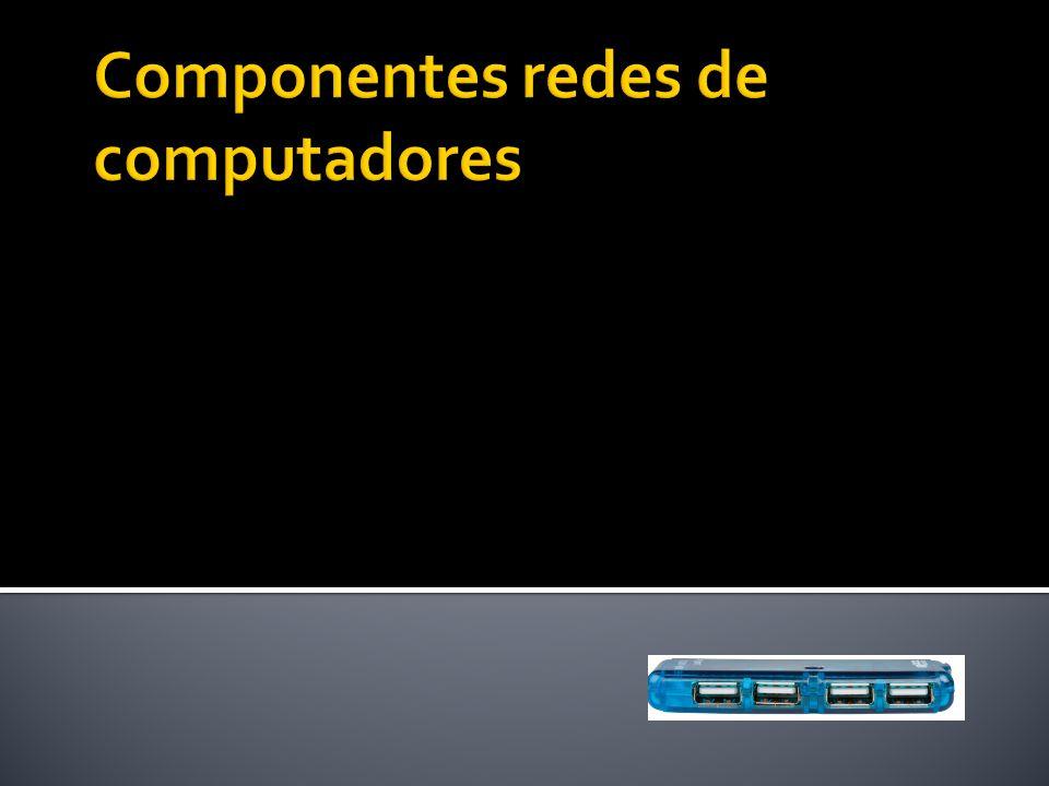 HUB – Concentrador O cabo de par trançado é o meio físico mais utilizado em LANs.
