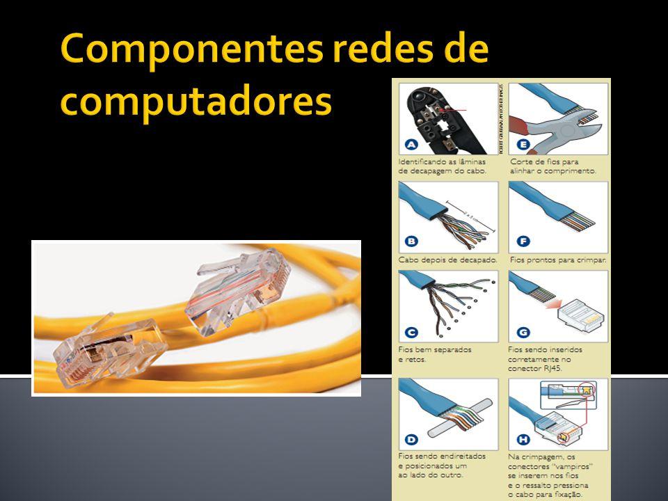 Roteadores Estes dispositivos têm como finalidade escolher o melhor caminho para o tráfego de informações.