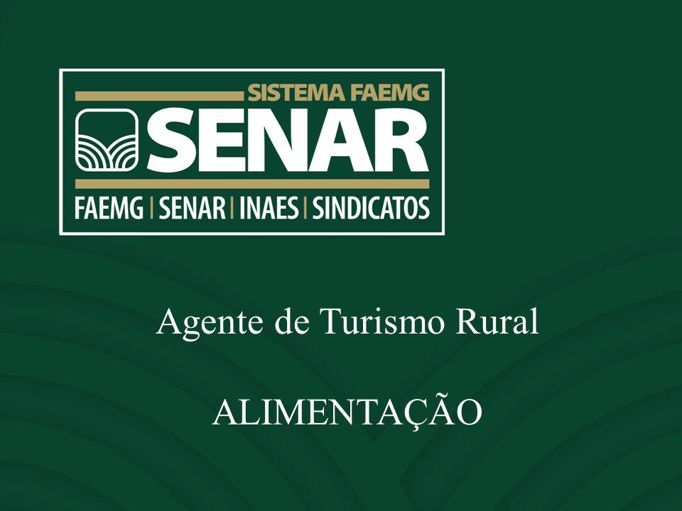 Agente de Turismo Rural ALIMENTAÇÃO